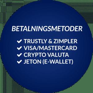 beskrvning av betalningsmetoder utan svensk licens